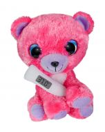 Lumo Stars Get Well Pink Bear with thermometer